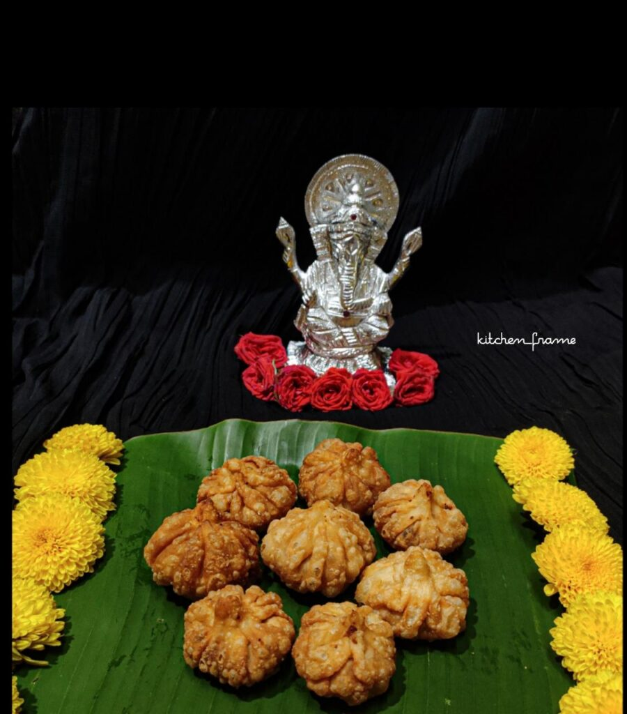 fried modak ganesh chaturthi