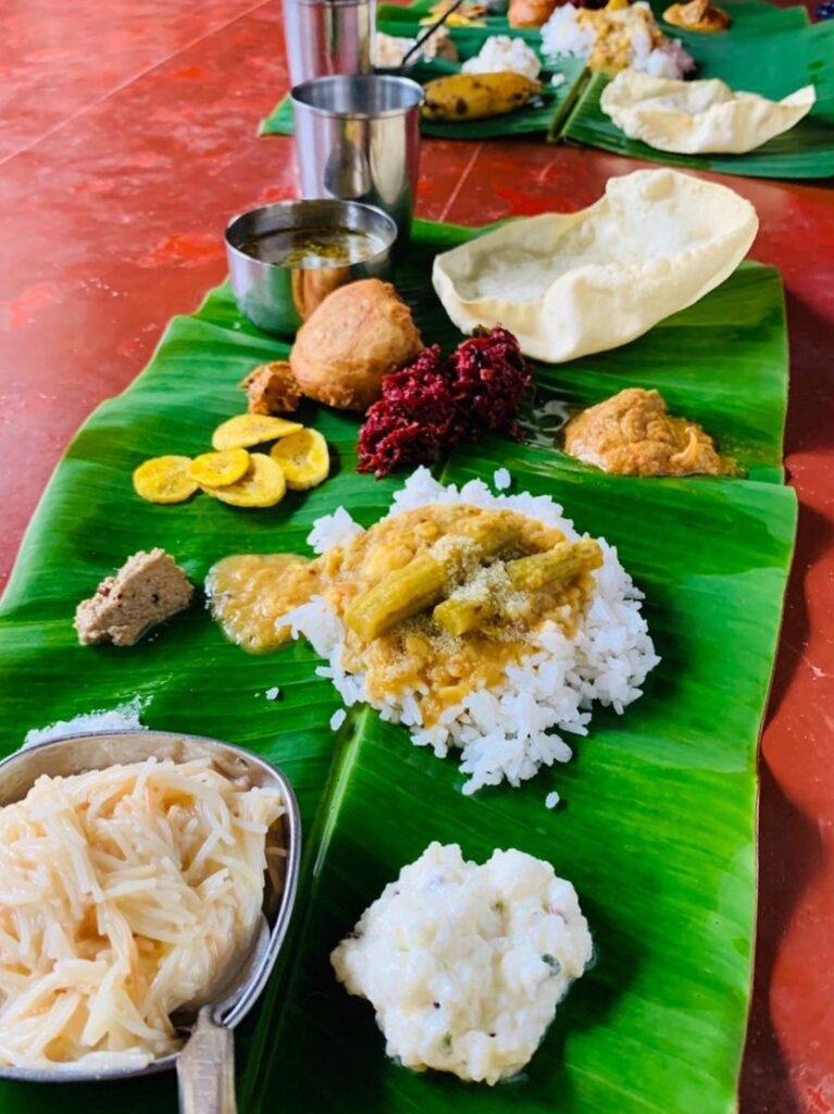 full course south indian meal in goa