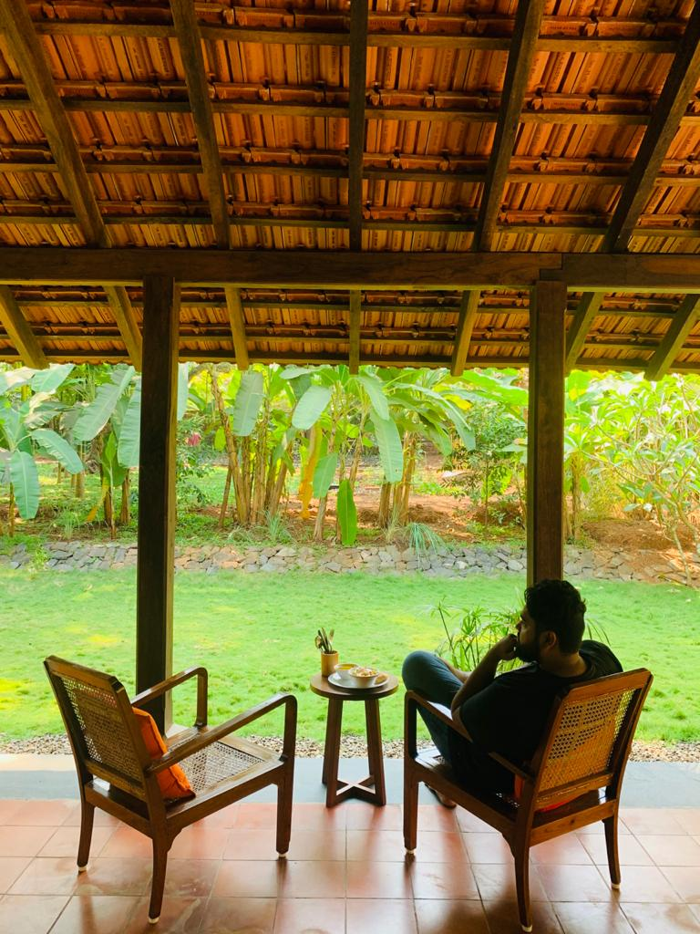 isolated staycation in Goa